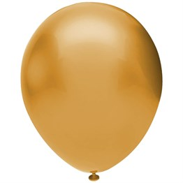 Gold Metalik Balon 10 adet